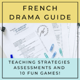 L'art dramatique: Un guide / Drama Guide for French Immers
