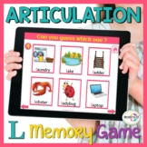 L Articulation Cards: No Print Interactive Game