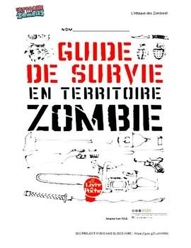 L'attaque des zombies! Futur proche project-based learning   FSL 9