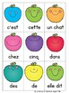 L'automne:  Sight Word Games in French with a Fall/Autumn Theme