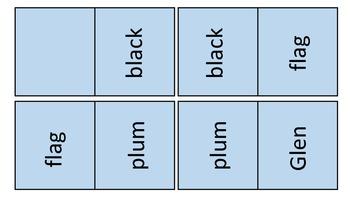 L blend domino cards