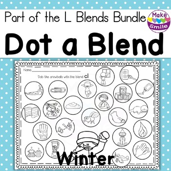 Dot a Blend: L Blends Winter