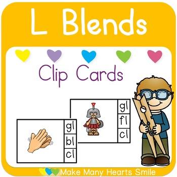 L Blends Clip Cards