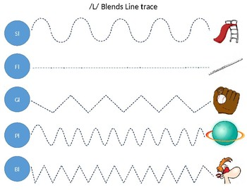 L blends and trace Freebie