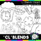 L blends clipart - Cl words - 22 images! Personal and Commercial use