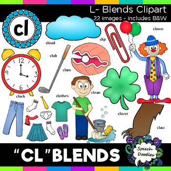 L blends clipart - Cl words - 22 images! Personal and Comm