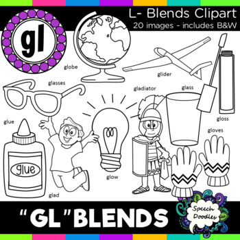 L blends clipart - Gl blends - 20 images! Personal and Commercial use