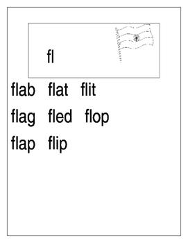 L blends with short vowels