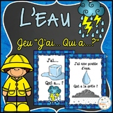 "L'eau - Le cycle de l'eau - Jeu ""j'ai... qui a...?"" - French Water Cycle"