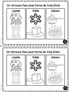 L'eau - Livret de lecture informatif - French Reader on Water