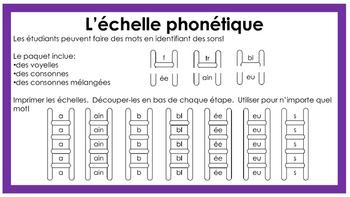 L'échelle phonétique