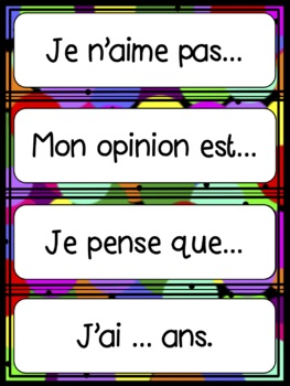 L'école - vocabulary activity French resource