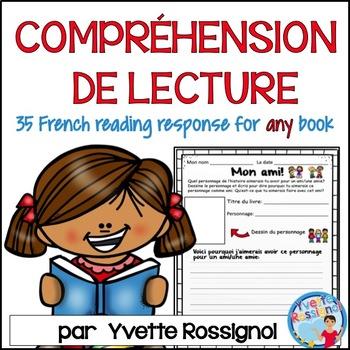 L'écriture suite à la lecture - 35 French Reading Response - French Writing