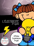 L'électricité FRENCH SCIENCE KIT ELECTRICITY