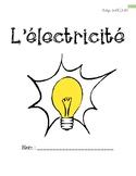 L'électricité (livret 1)