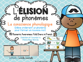 L'élision de phonèmes - la conscience phonologique - Phonemic Awareness