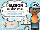 L'élision de phonèmes - la conscience phonologique - Phone