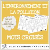 L'environnement - French crossword puzzles - Le Jour de la