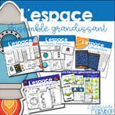 L´espace - Ensemble grandissant - French Outer space Bundle