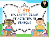 L'été: A summer- themed activity bundle in French