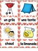 L'été FRENCH Summer Vocabulary Word Wall