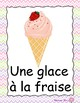 L'été : French summer posters and flashcards