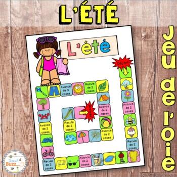L'été - jeu de société - French Summer board game