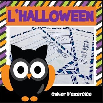 L'halloween - Cahier d'activités
