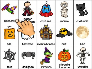 L'halloween - FRENCH - Touch & Hear interactive ipad/smartboard file