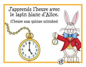 L'heure (15 minutes)