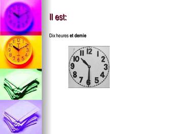 L'heure