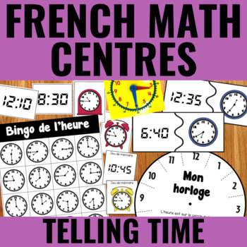 L'heure - Time Centers French