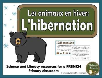L'hibernation - Les animaux en hiver (French hibernation - Animals in Winter)