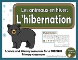 L'hibernation - Les animaux en hiver (French hibernation - Animals in Winter)