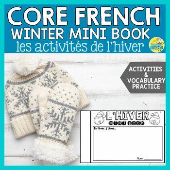 L'hiver:  Middle School French Winter Mini Book