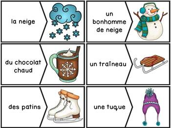 Hiver - French Winter - 35 puzzles