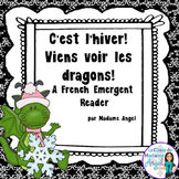 L'hiver: Winter Themed Emergent Reader in French