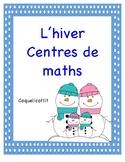 L'hiver- centres de maths