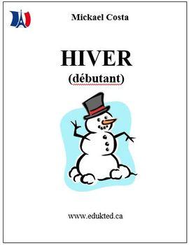 L'hiver (débutant) French Immersion (#94)