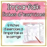 L'imparfait - 8 Fiches d'exercices (Distance Learning)