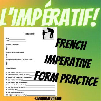 L'impératif-French imperative/commands practice