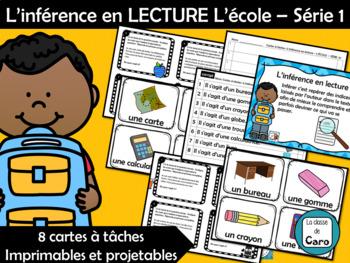 L'inférence en LECTURE L'école – Série 1