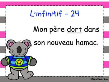 L'infinitif