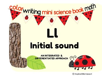 L initial/beginning sound integrated & differentiated activities