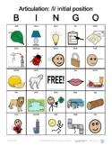 L initial position Articulation Bingo with SymbolStix