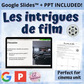 L'intrigue des films: production écrite/orale