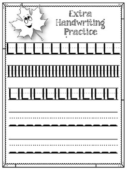L is for Leaf.  To use with My Father's World. Alphabet Worksheets