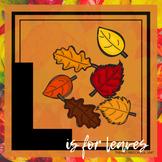 L is for Leaves Themed Unit-Preschool Lesson Plans  - Dist