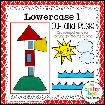 Letter L Craft {Lighthouse}