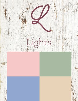L is for Lights